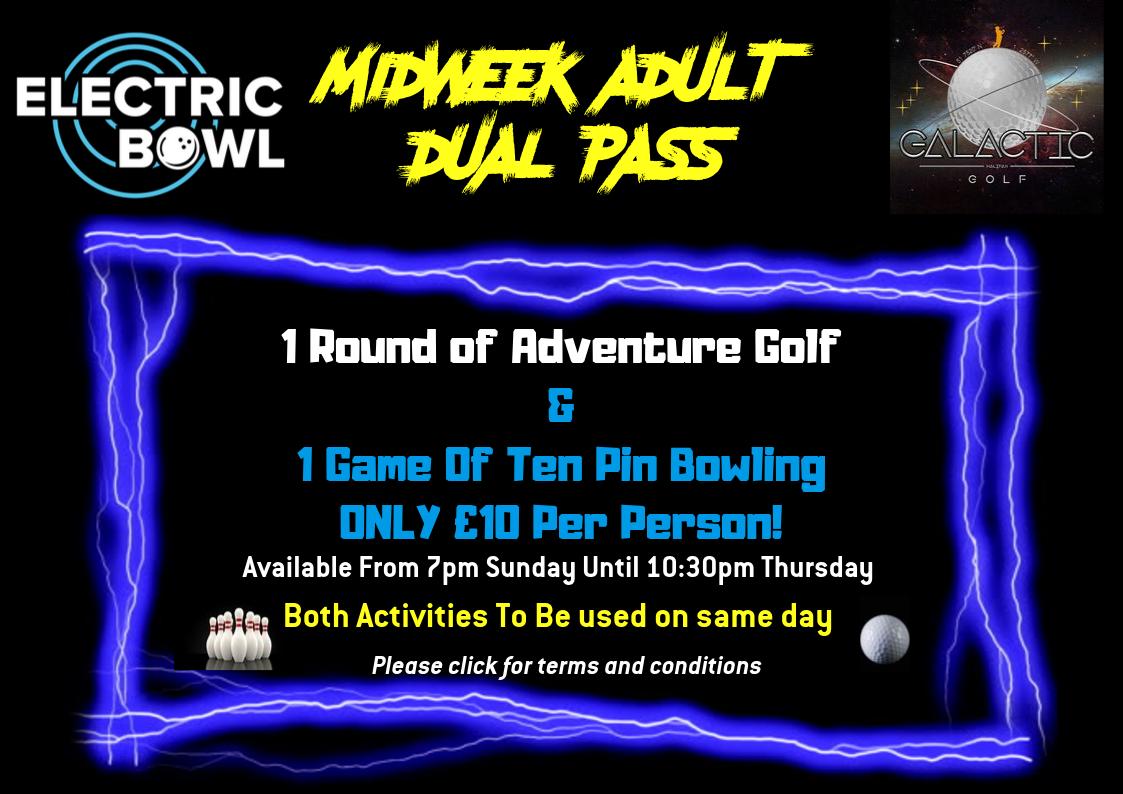 Midweek Adult Dual Pass!